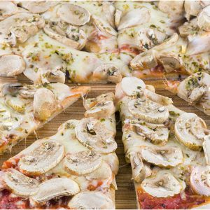 Pizza Funghi Side Grill